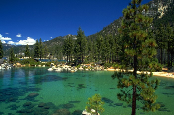 12. Lake Tahoe is the third deepest lake in the U.S.