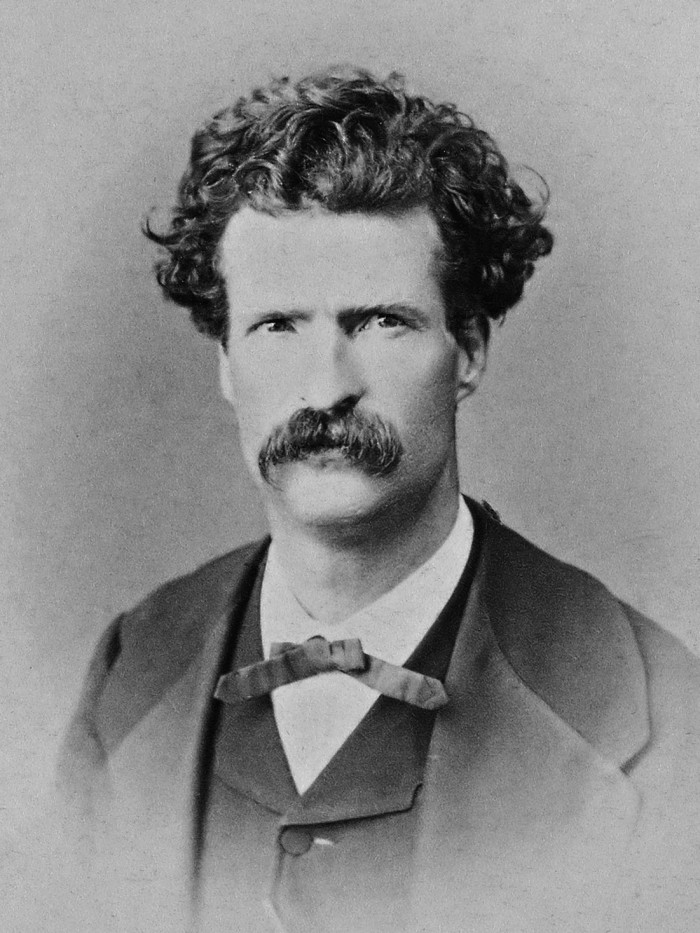 14. Mark Twain's writing career began with a position as a reporter at the Virginia City Territorial Enterprise.
