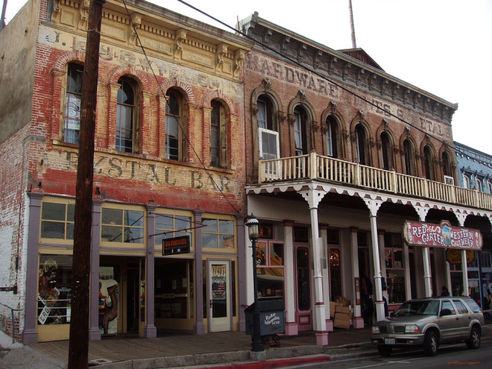 19. Virginia City is believed to be the most haunted town in the U.S.