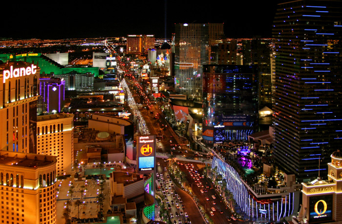 23. The Las Vegas Strip may only be 4.2 miles long, but it has over 75,000 miles of neon.