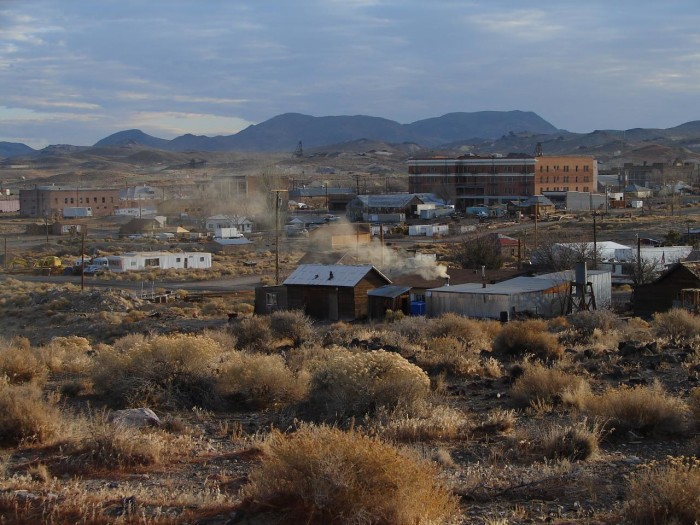 7. Even though Goldfield was once the largest city in Nevada, it's now the second-smallest county seat in the U.S.
