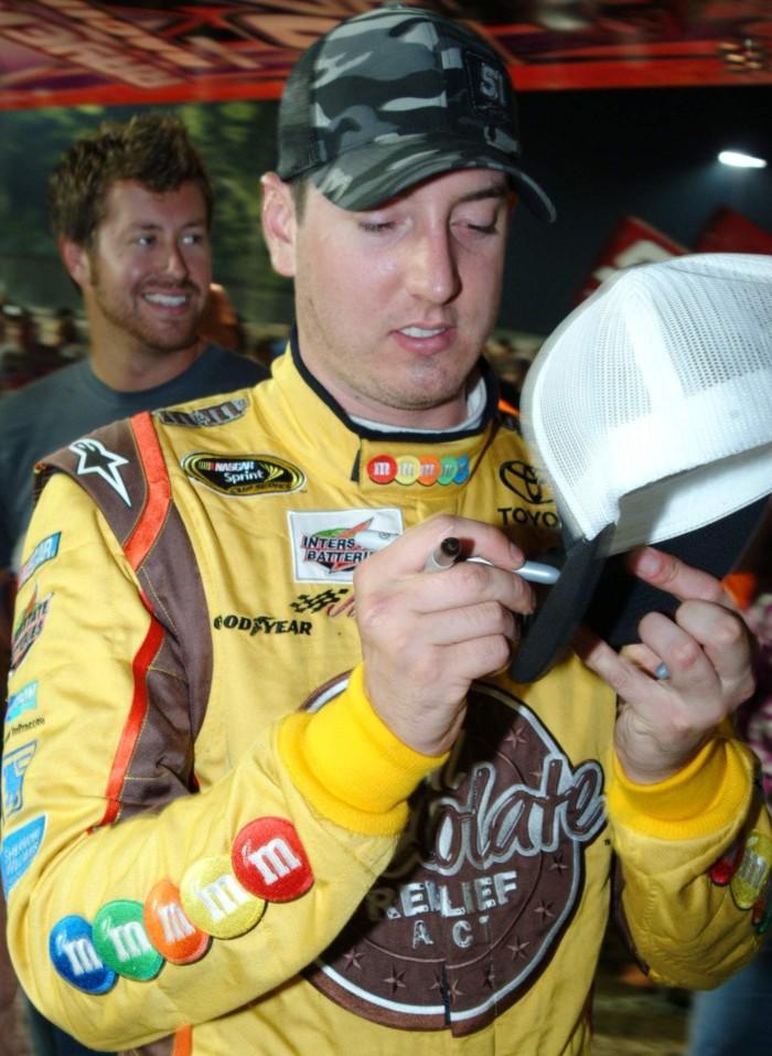 2. Kyle Busch - Professional Race Car Driver
