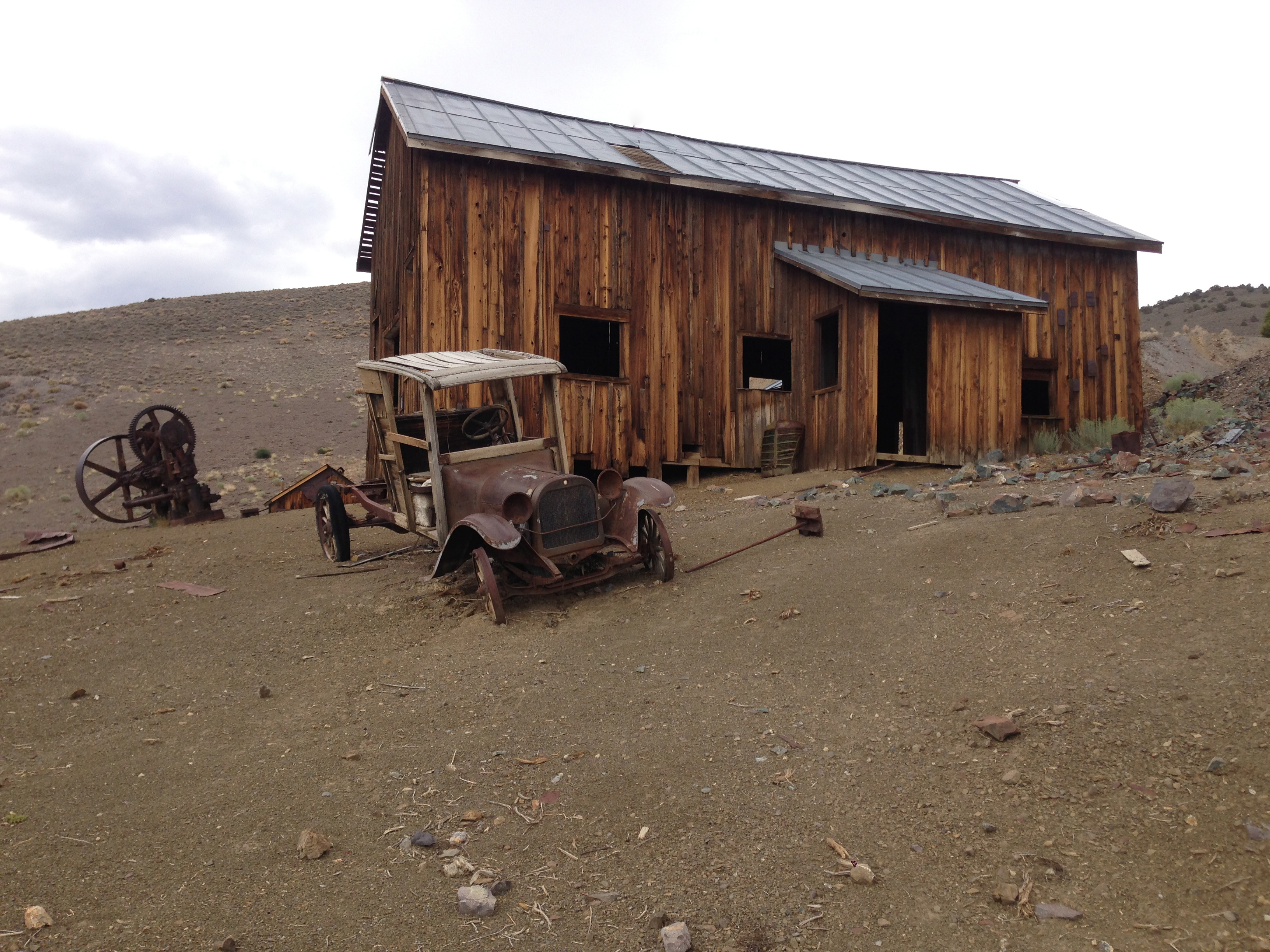 12 Ghost Towns In Nevada