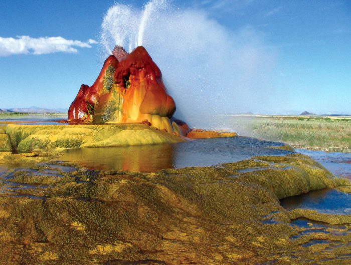 2. Fly Geyser - Washoe County, NV