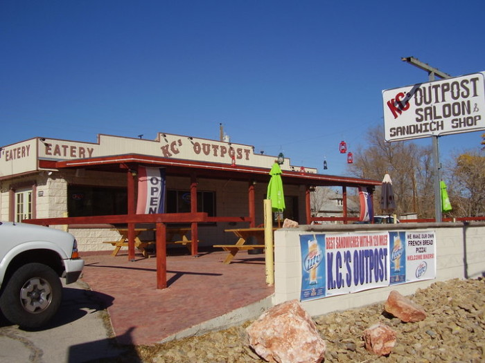 9. KC's OUTPOST Eatery and Saloon - Beatty, NV