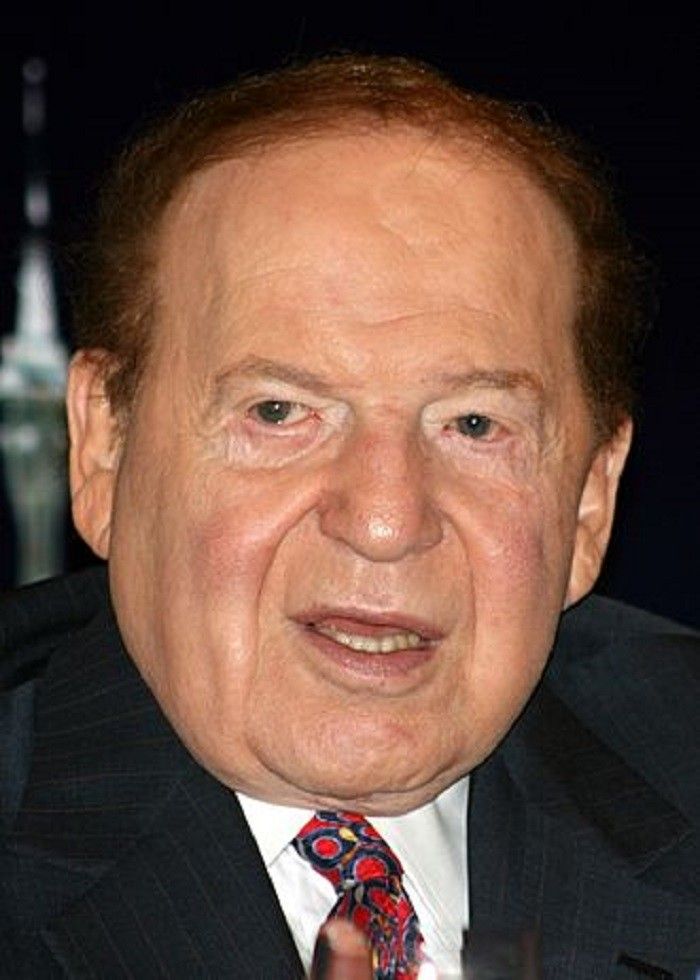 1. Sheldon Adelson - CEO of Las Vegas Sands Corp. / Net Worth - $31.4 Billion