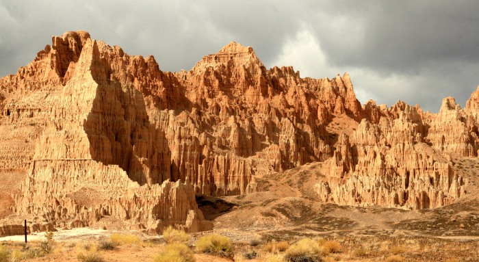 1.) Cathedral Gorge State Park - Panaca, Nevada