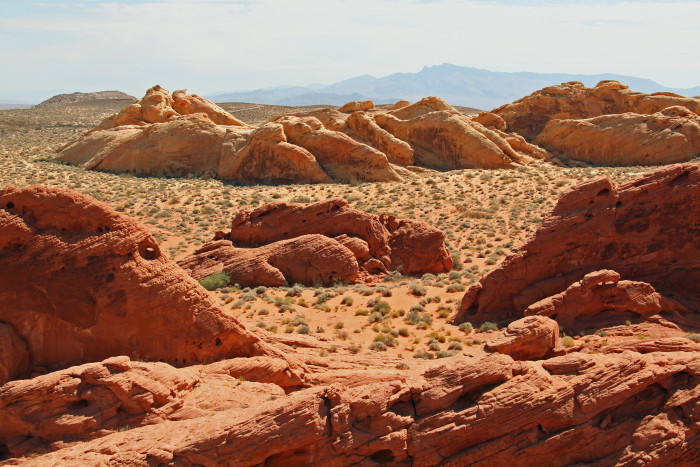 10.) Valley of Fire State Park - Overton, Nevada