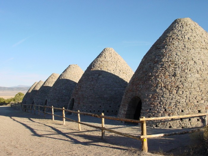 6.) Ward Charcoal Ovens State Historic Park - Ely, Nevada
