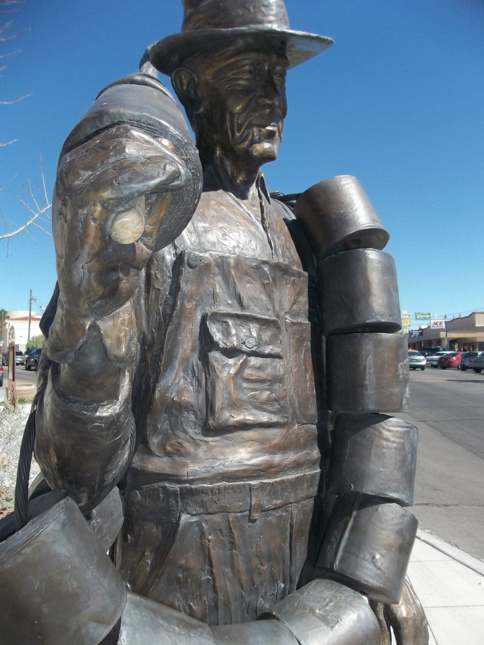 11. Toilet Paper Hero of Hoover Dam - Boulder City, NV