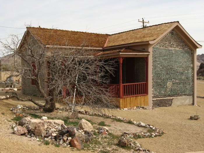 12. Tom Kelly's Bottle House - Rhyolite, NV