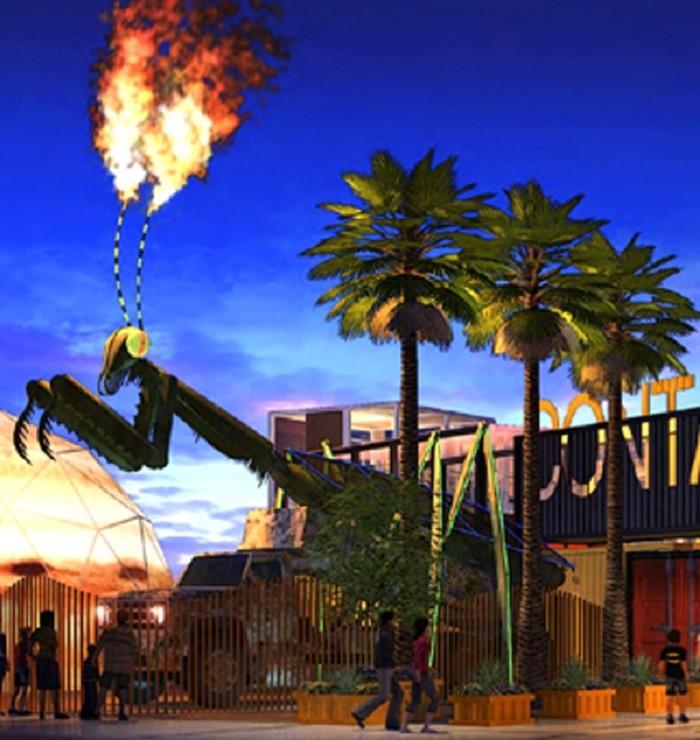 14. Flaming Praying Mantis - Las Vegas, NV