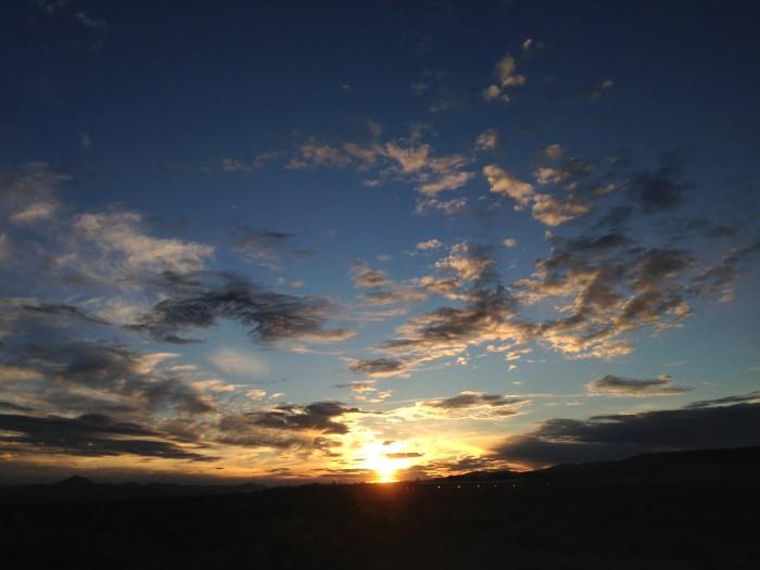 8. Sunset over Elko, Nevada