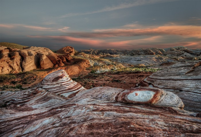 6. Sunset over Valley of Fire State Park