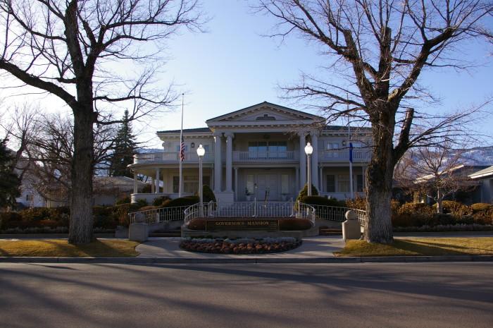 9. Governor's Mansion - Carson City
