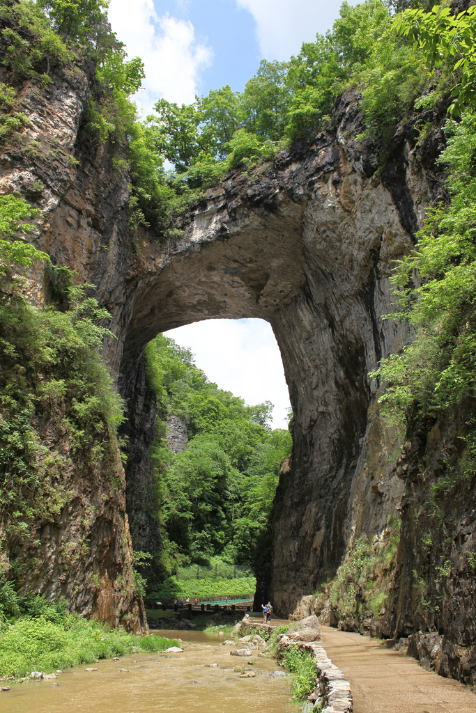 22. And perhaps the most amazing bridge of all - Natural Bridge