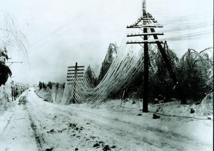 5.) The 1994 Ice Storm