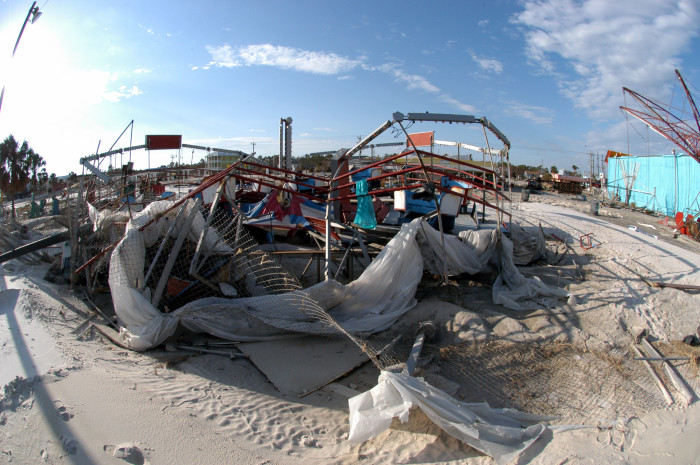 7.) Hurricane Ivan - 2004