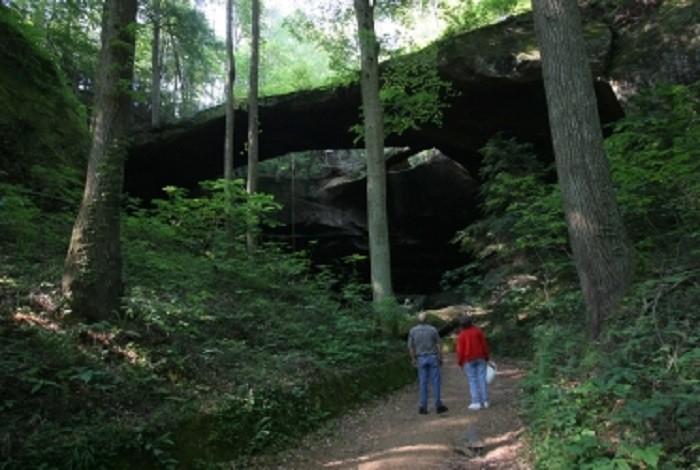 1. Natural Bridge - Natural Bridge, AL
