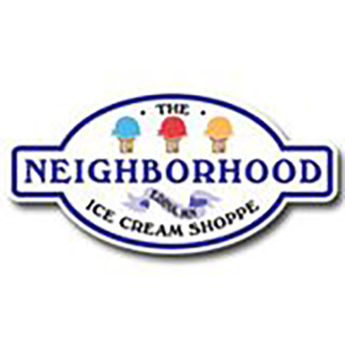 10. The Neighborhood Ice Cream Shoppe features the best local craft ice cream.