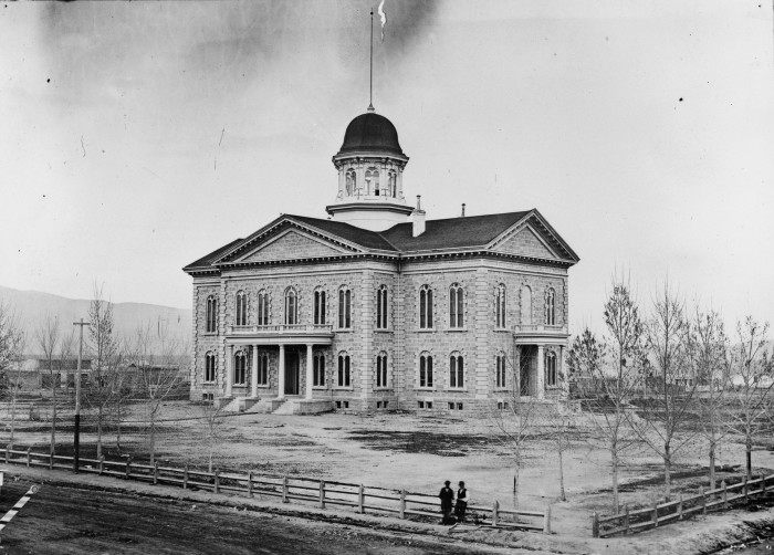 1. Nevada State Capitol, 1875