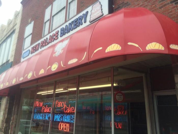 3) New Palace Bakery