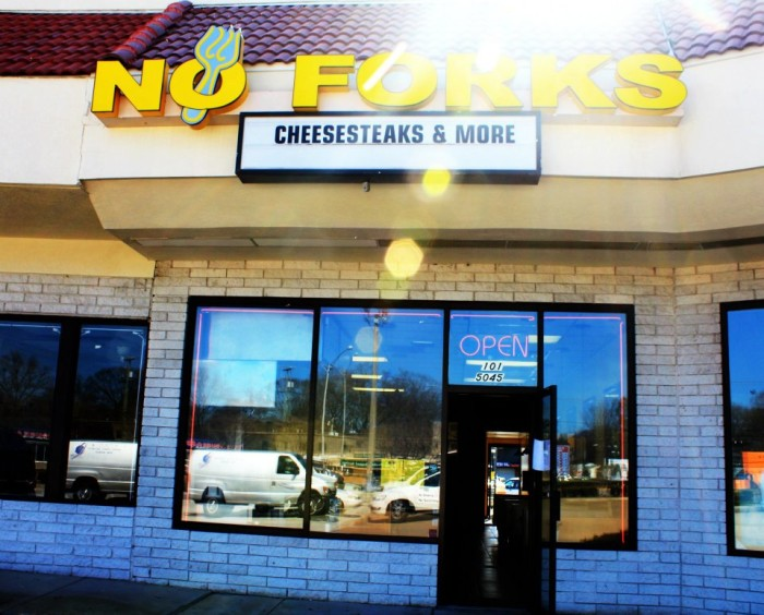 14. No Forks CheeseSteaks and More, Virginia Beach