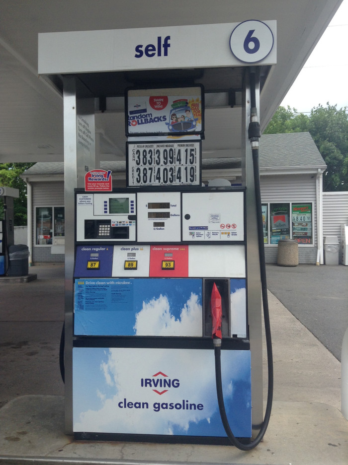 5) You never hear the end of the complaining when they have to pump their own gasoline.