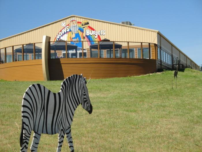 5) Noah's Ark Restaurant, Winston, Ore