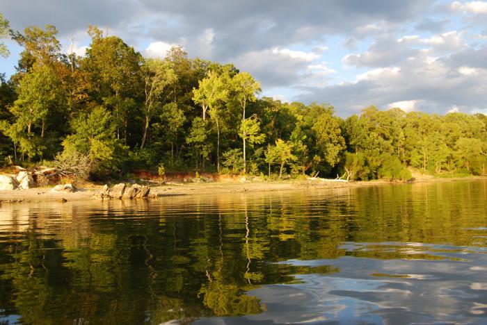 3. Occoneechee State Park, Clarksville