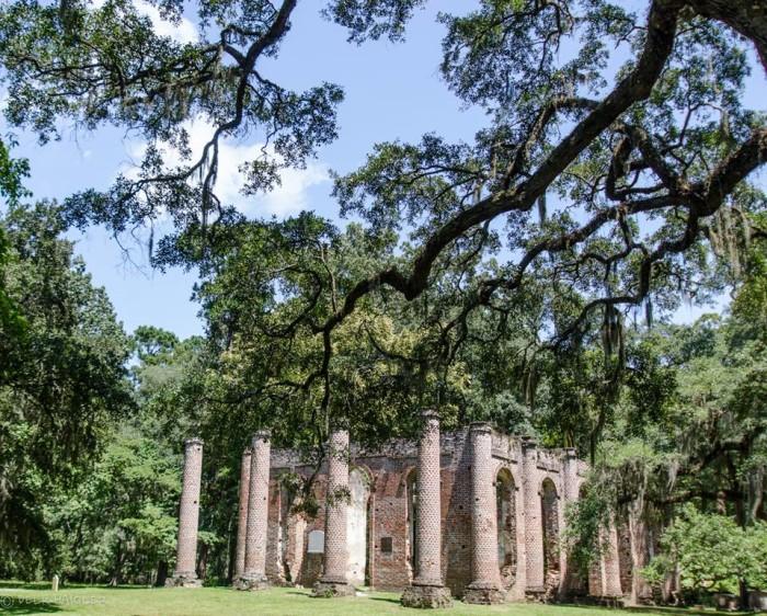 3. Old Sheldon Church Ruins, Yemassee, SC