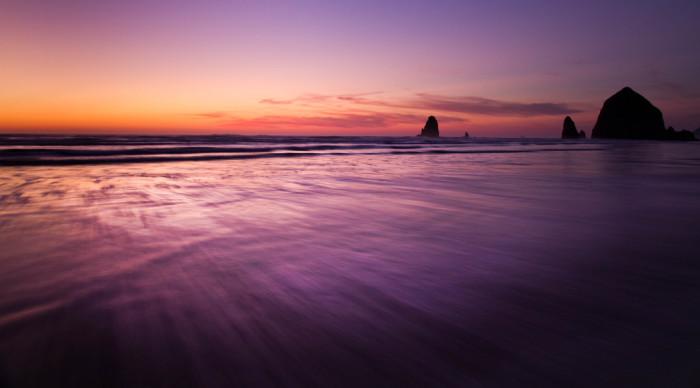 3) The Oregon Coast