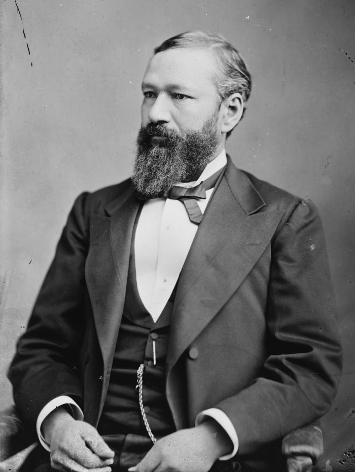 8) P.B.S. Pinchback was the first African American governor in the U.S., who served Louisiana for just 2 weeks during reconstruction.