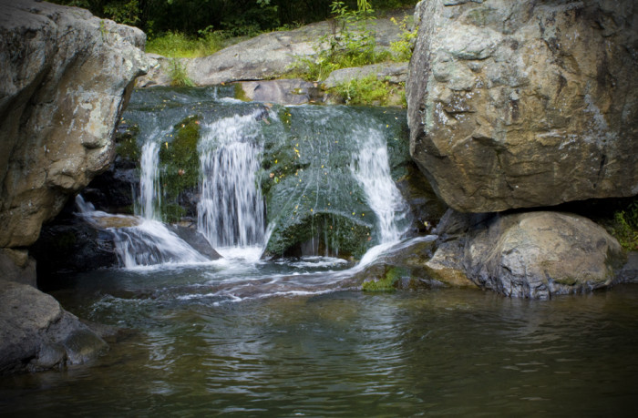13. Go swimming at Panther Falls in Amherst County