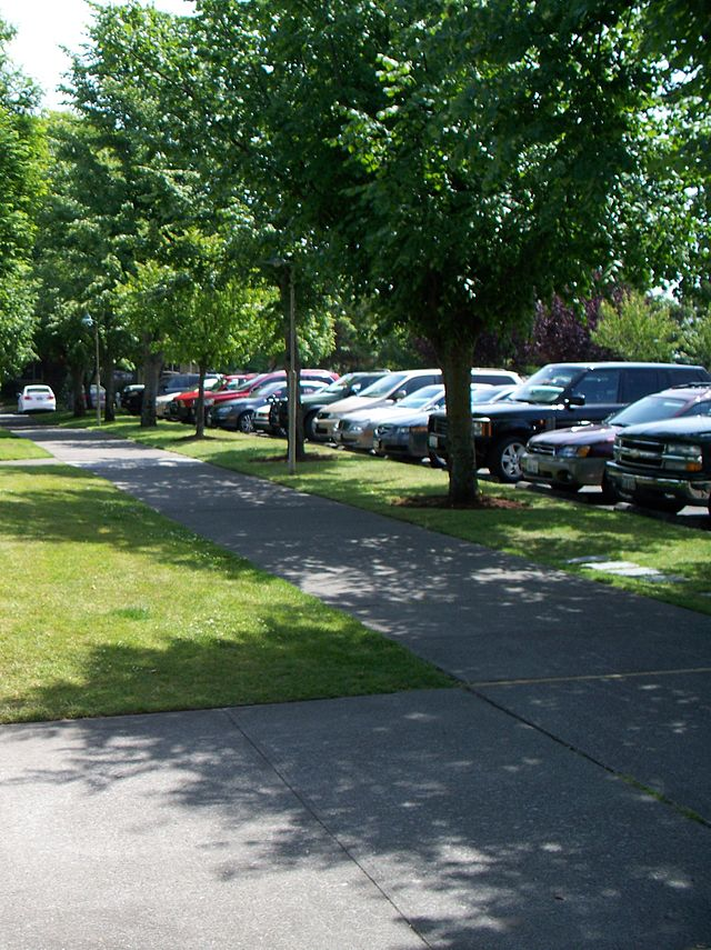 7. Parking in direct sunlight