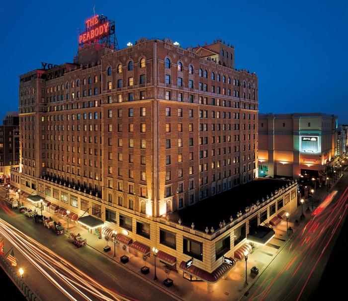 2) The Peabody Hotel - Memphis
