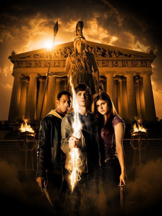 7) Percy Jackson and the Lightning Thief