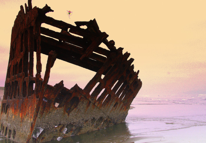 1) Wreck of the Peter Iredale, Hammond
