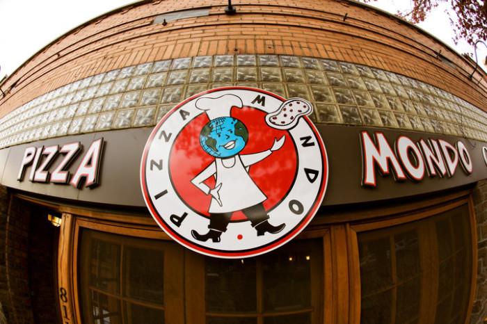 5) Pizza Mondo, Bend