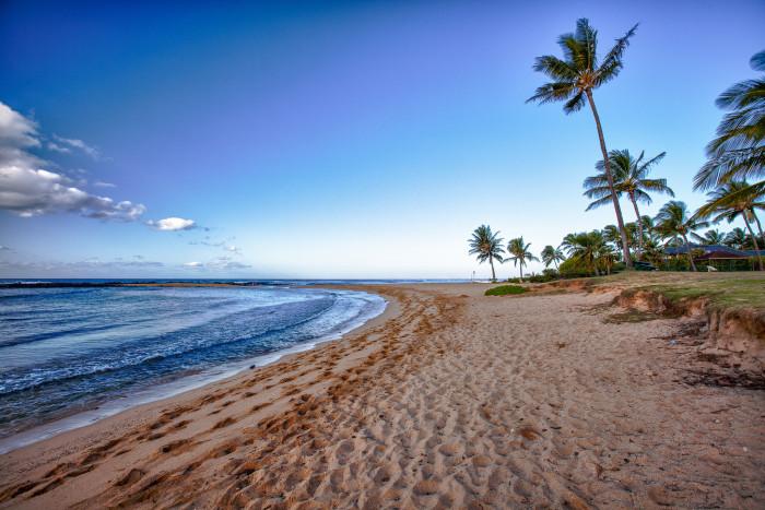 7) Poipu Beach, Kauai