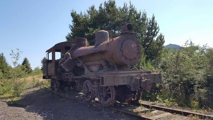 3) Long forgotten locomotive, Port of Tillamook