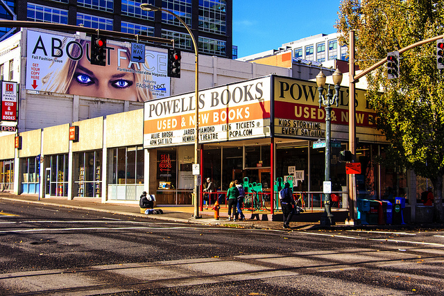2) Powell's Book Store, Portland