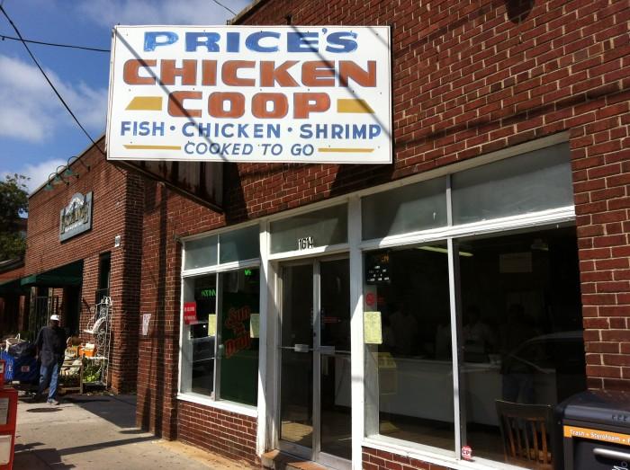 5. Price's Chicken Coop, Charlotte