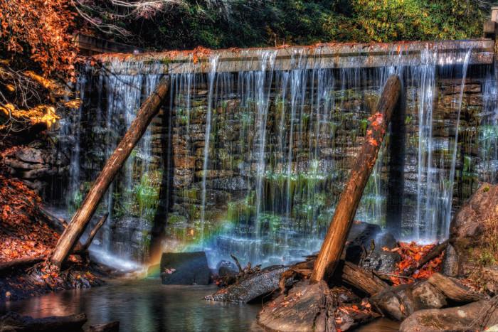 36. Rake's Mill Pond in Floyd County