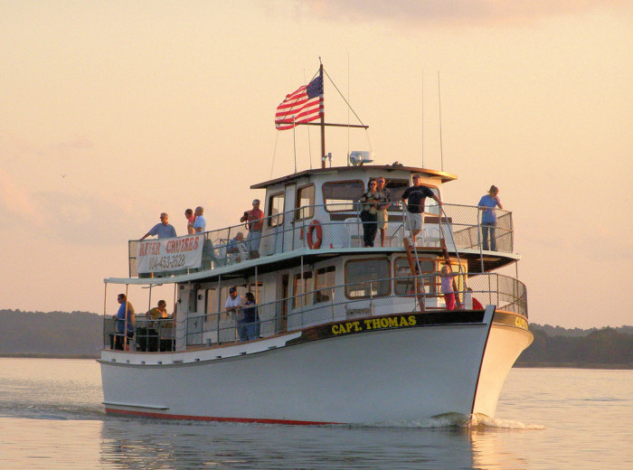3. Take a Rappahannock River Boat Cruise out of Tappahannock