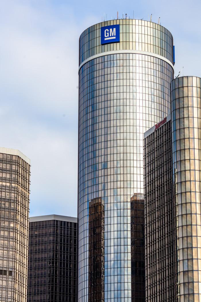 3) Renaissance Center, Detroit