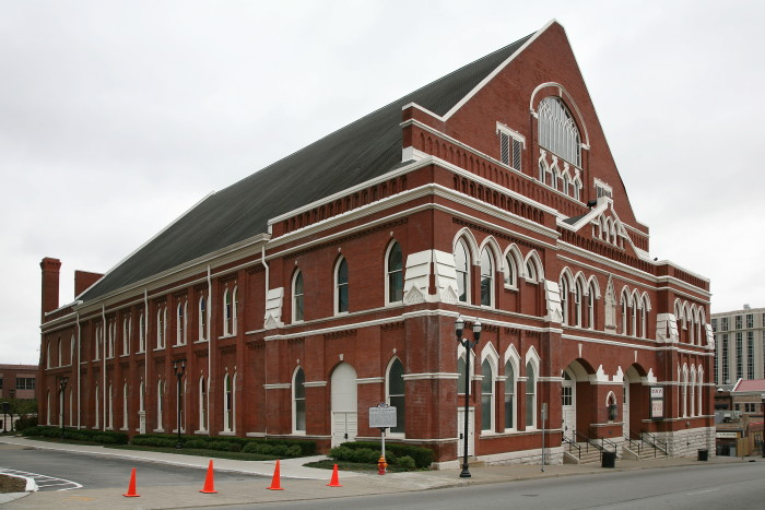 2) Ryman Auditorium - Nashville