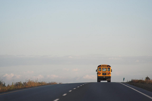 9) It took you two hours just to pick up 10 kids on the school bus
