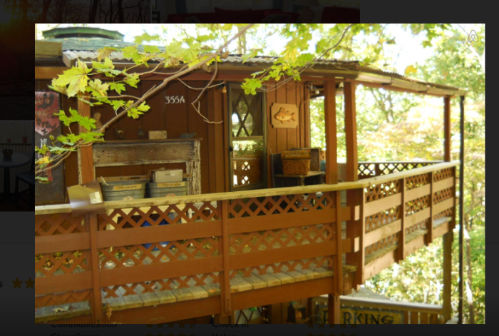 2. Air BnB Tree house Rental near Asheville