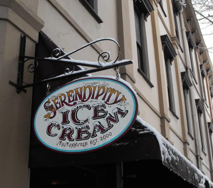 4) Serendipity Ice Cream, McMinnville